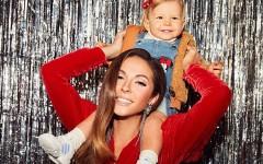 «Папина копия»: певица Нюша показала фото с милой дочкой по имени Симба