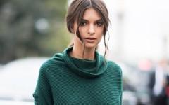 Осенний аутфит от Эмили Ратайковски: стильно, смело и чувственно