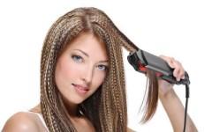 Плойка-гофре для создания прикорневого объема волос
