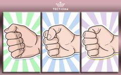 Тест древних самураев с точностью 95 %! Сожмите кулак и узнайте, какой вы на самом деле