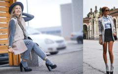 С чем и как сегодня можно носить носки — советы на фото