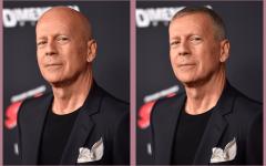 Как бы выглядели лысые звёзды с волосами – фотоколлаж с подбором причёсок знаменитым мужчинам