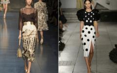 Блузка в горох — правильные и ошибочные сочетания в одежде