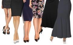 Какой длины должна быть юбка уважающей себя леди – правила выбора идеальной длины юбки