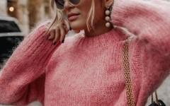 Сезон невесомых свитерков: 10 стильных моделей джемпера из тонкого мохера