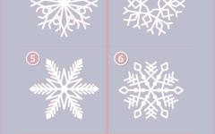 Выберите снежинку и узнайте свои сильные качества
