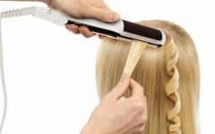 Утюжок для волос: способы его использовать, о которых вы даже не подозревали