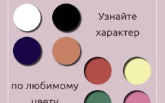 Психологический тест – узнайте о своём характере по любимому цвету