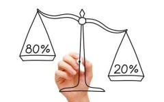 Принцип Парето в работе и бизнесе – как делать всего 20% дел, и при этом быть успешным