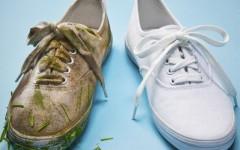 Как отмыть и отбелить белые кроссовки – 15 эффективных средств