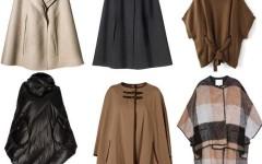 С чем носить и как сочетать пончо, кейпы и накидки, чтобы быть стильной