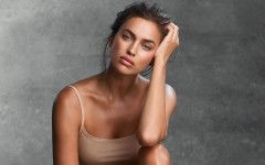 Ирина Шейк показала натуральную красоту без макияжа
