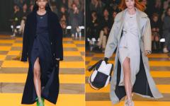 С чем носить пальто оверсайз осенью 2019 года?