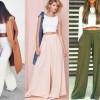 Стильные летние брюки: кюлоты, джоггеры, чиносы, палаццо и другие модели