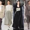 С чем носить и сочетать короткие и длинные юбки зимой?