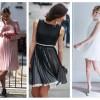 Модный тренд 2019 года плиссированные платья и юбки