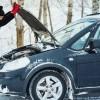 Если машина не завелась в мороз: инструкция для блондинок