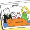 Семейный бюджет — как вести и планировать?