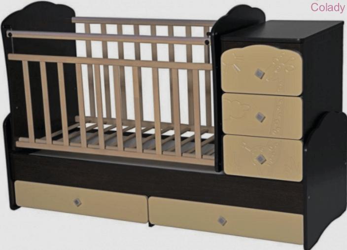 Кроватка-трансформер «Ульяна»