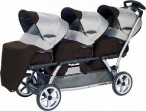 Лучшие модели колясок для тройни