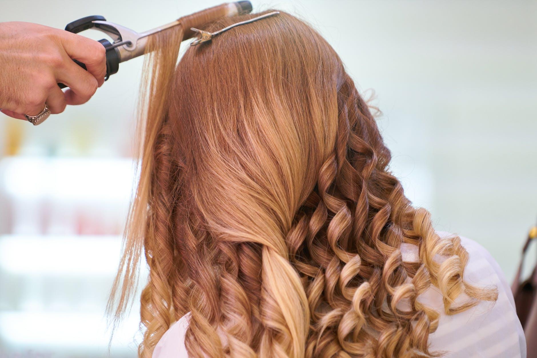 волосы причёска
