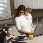 Работа для женщин на дому, работа со свободным графиком