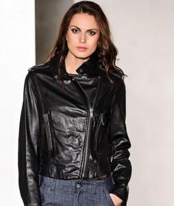 Модные модели кожаных курток на осень 2012