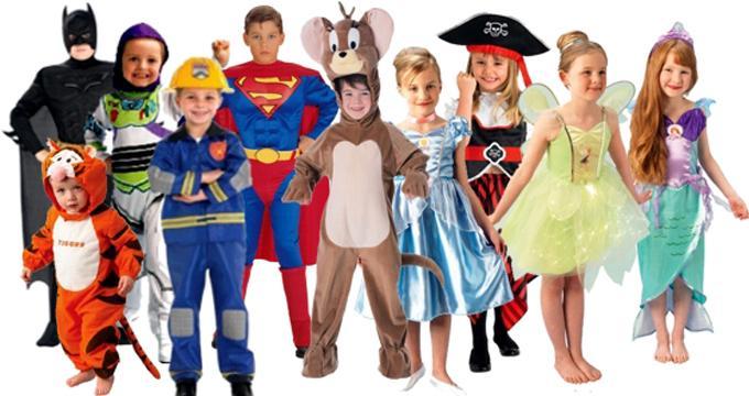 Новогодние костюмы для девочек и мальчиков