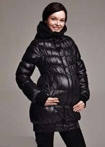 Зимние пуховики для беременных - лучшие модели 2012-2013