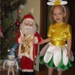 Новогодние костюмы для девочек и мальчиков своими руками