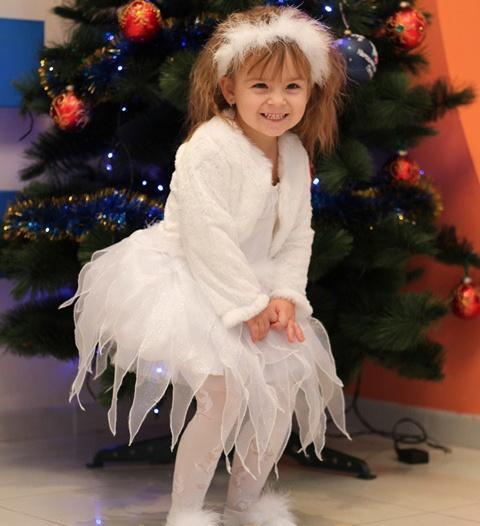 Новогодний костюм Снежинка