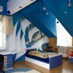 Интересные идеи для штор в детскую комнату