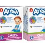 Лучшая детская смесь для новорожденных - Агуша
