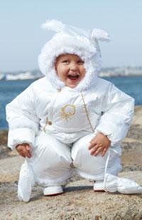 Модная одежда для новорожденных