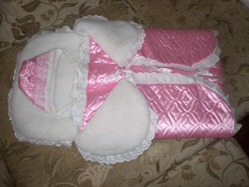 Конверт на выписку для новорожденной девочки