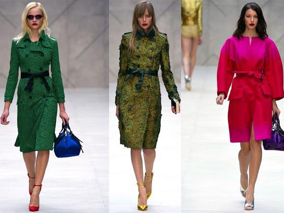 Самые модные пальто на весну 2013