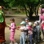 Летний детский сад