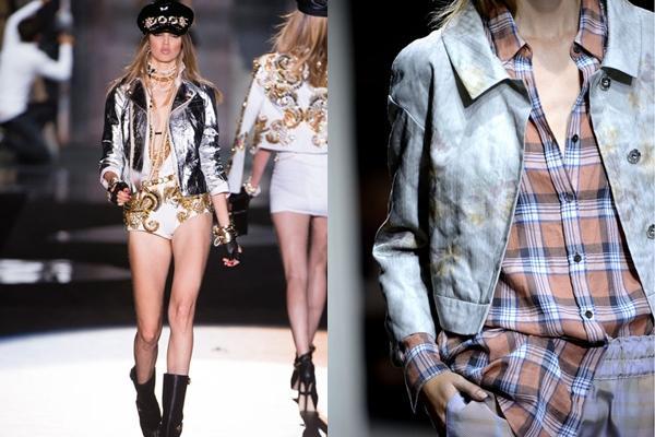 Модные кожаные куртки 2013