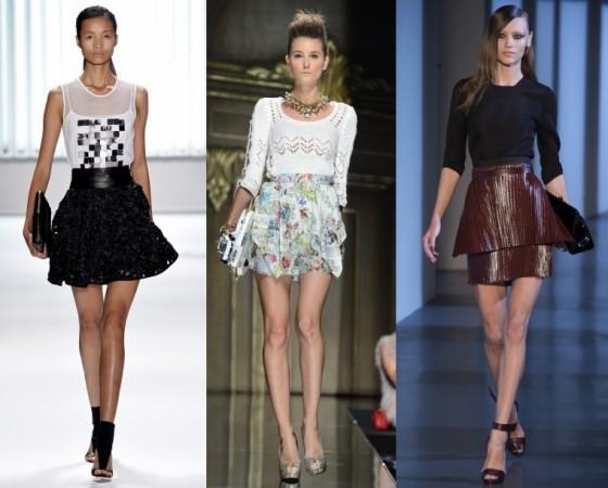 Самые модные летние юбки 2013