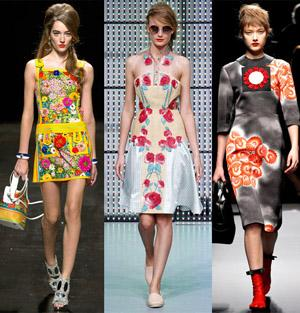 Модные летние платья 2013