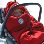 Меховые пеленки для новорожденных