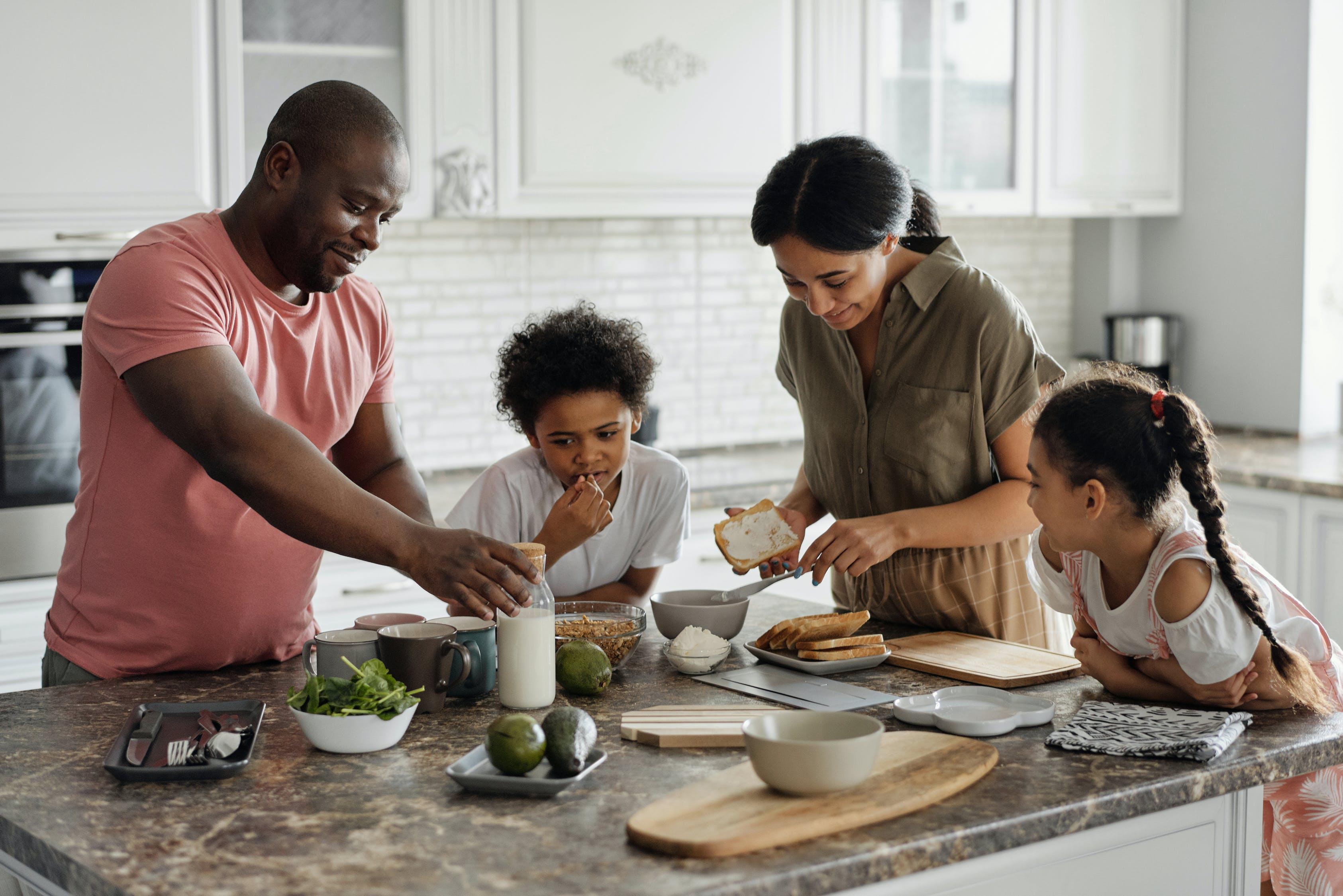 семья в америке