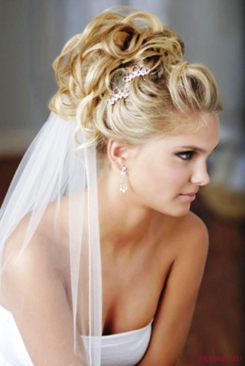 Лучшие свадебные прически 2013 года