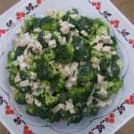 Низкокалорийные блюда - салат с брынзой