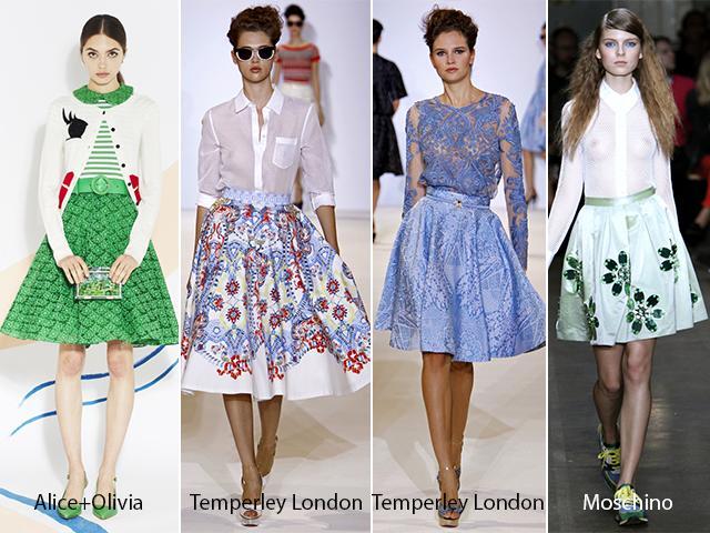 Самые модные юбки 2013 года
