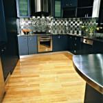 Напольное покрытие для кухни - бамбук