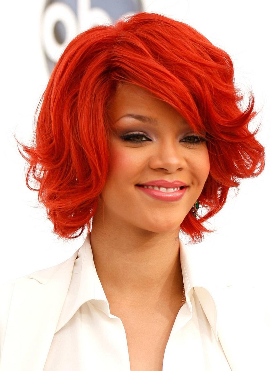 Модные волосы 2013 - рыжие волосы