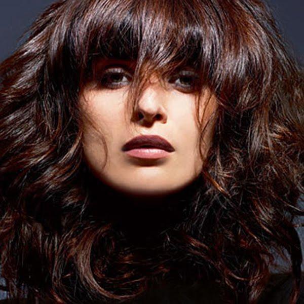 Модные волосы 2013 - тёмно-рыжий цвет волос