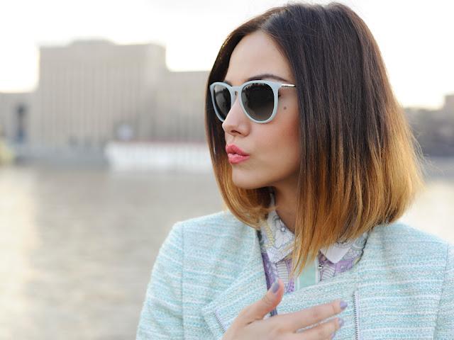 Модные волосы 2013 - венецианское мелирование