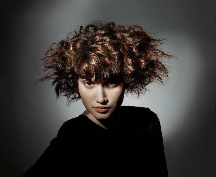 Модные волосы 2013 - шоколадный цвет волос